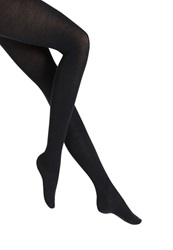 Falke Softmerino Tights Dark Navy Dark Blue