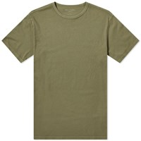 Officine Generale Pigment Dyed Tee Green