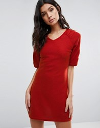Pussycat London A Line Dress Red