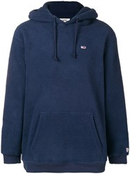 Tommy Jeans Classic Monogram Hoodie Blue