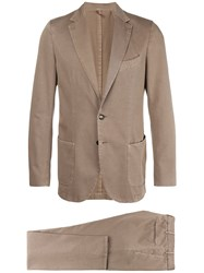 Dell'oglio Two Piece Suit Brown