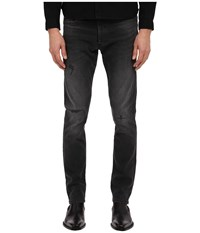 The Kooples Washed Black Denim Pants Black Men's Jeans