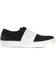The Last Conspiracy Contrasting Band Sneakers Black