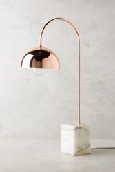 Anthropologie Winding Course Table Lamp Copper