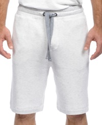 2Xist 2 X Ist Men's Loungewear Terry Shorts White Heat