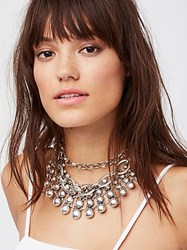 Free People Sunshine And Silver Collar