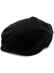 Dolce And Gabbana Flat Cap Black