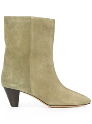 Etoile Isabel Marant Dyna Boots Green