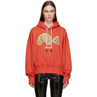 Palm Angels Red Kill The Bear Hoodie