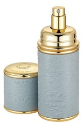 Creed Grey With Gold Trim Leather Atomizer No Color