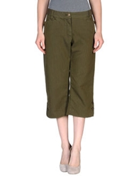 Luis Trenker 3 4 Length Shorts Military Green