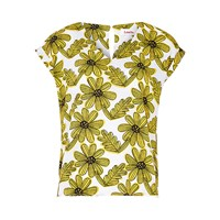 Louche Marigold T Shirt White Yellow