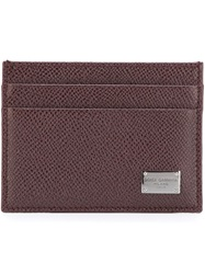 Dolce And Gabbana Classic Cardholder Red