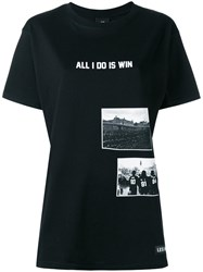 Les Artists Art Ists All I Do Is Win T Shirt Black