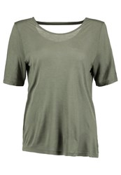 United Colors Of Benetton Basic Tshirt Khaki