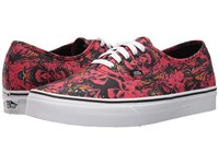 Vans Authentic Butterfly Dreams Black True White Skate Shoes Multi