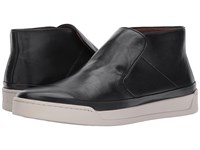 John Varvatos Remy Mid Mineral Black Men's Slip On Shoes Blue