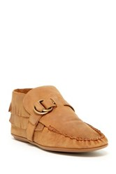 Bettye Muller Teepee Leather Moccasin Brown