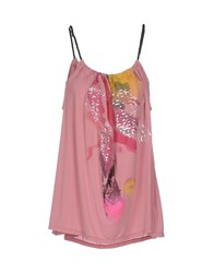 Cnc Costume National C'n'c' Costume National Topwear T Shirts Women Pastel Pink