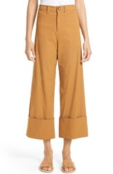 Sea Women's Cuffed Cotton Blend Pants