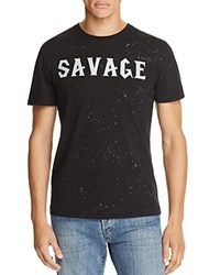 Eleven Paris Savage Short Sleeve Tee Acid Wash