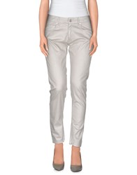 Fairly Trousers Casual Trousers Women Light Grey