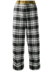8Pm Checked Wide Leg Trousers 60