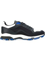 Christian Dior Dior Homme Panelled Running Sneakers Blue