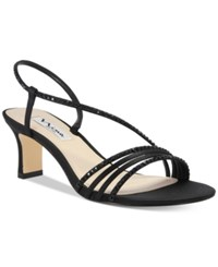 Nina Gerri Evening Sandals Women's Shoes Black