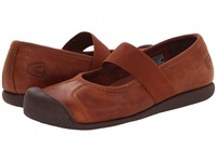 Keen Sienna Mj Leather Tortoise Shell Women's Maryjane Shoes Brown