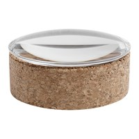 Hay Lens Storage Box Glass And Cork Small