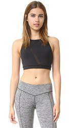 Solow Racer Back Sports Bra Black
