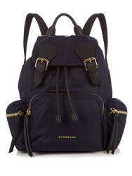 Burberry Nylon Backpack Navy