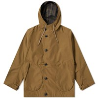 Nanamica Nylon Gore Tex Cruiser Jacket Brown