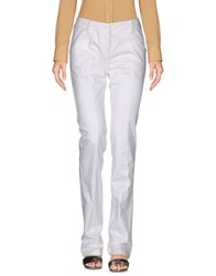 Anna Molinari Casual Pants White