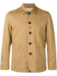 Universal Works Single Breasted Coat Nude Neutrals
