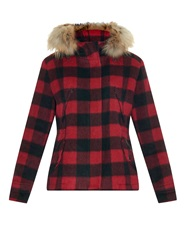 Woolrich Plaid Lumberjack Wool Jacket
