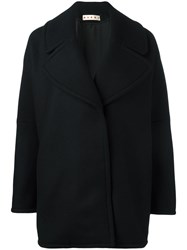Marni Oversized Cocoon Jacket Black