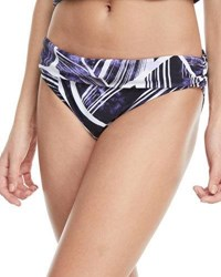 Lablanca Bali Shirred Band Hipster Swim Bottoms Multi