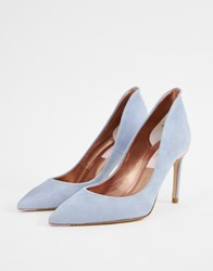 7f858b64b Ted Baker Suede Heeled Shoes Blue