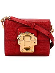Dolce And Gabbana Lucia Crossbody Bag Red