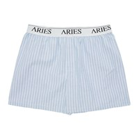 Aries Blue Narrow Stripe Boxers