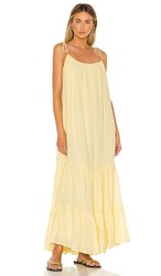 Anine Bing Scarlett Dress In Yellow.