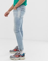Cheap Monday Tight Skinny Jeans In Light Blue
