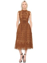 Ermanno Scervino Lurex And Lace Dress