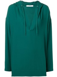 Givenchy Oversized Hoodie Green