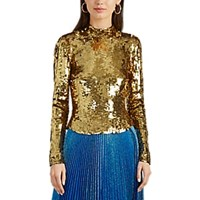 Osman Sequined Top Gold