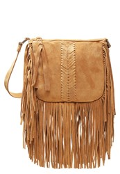 Pepe Jeans Bell Across Body Bag Tan Brown
