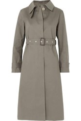Mackintosh Bonded Cotton Trench Coat Taupe