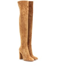 Gianvito Rossi Exclusive To Mytheresa.Com Suede Over The Knee Boots Brown